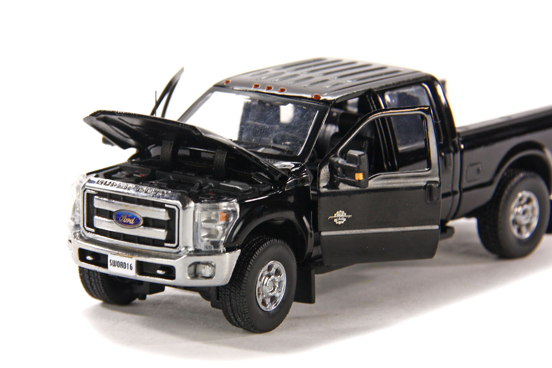 Ford F250 Crew Cab 6 ft Cama -  nero  - Chrome Wheels - 1 50 - espada  SW1200KC