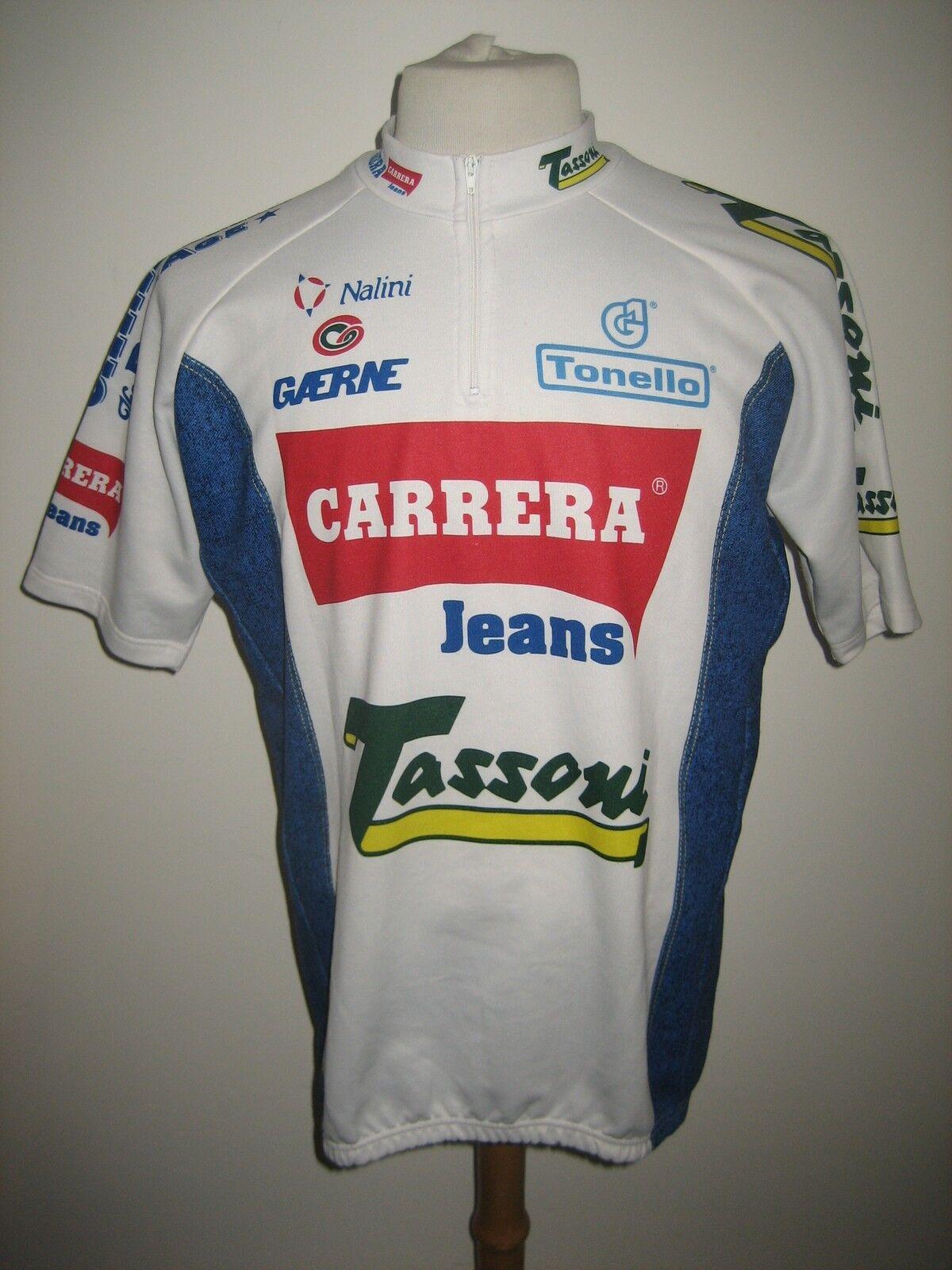 Carrera Jeans Tassoni  vintage 90's jersey shirt cycling maglia size XXL