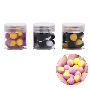 15x-Carp-Fishing-Boilies-Bait-Foam-Boilies-Ball-Bait-for-Carp-Hair-Rig-Feede-IY