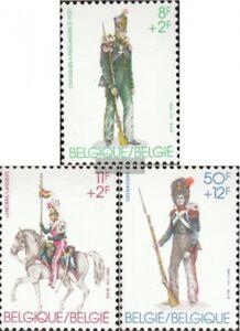 Belgien-2160-2162-kompl-Ausg-postfrisch-1983-Alte-Militaeruniformen