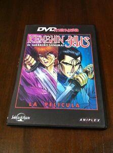 KENSHIN-EL-GUERRERO-SAMURAI-LA-PELICULA-DVD-SELECTA-VISION-90-MIN