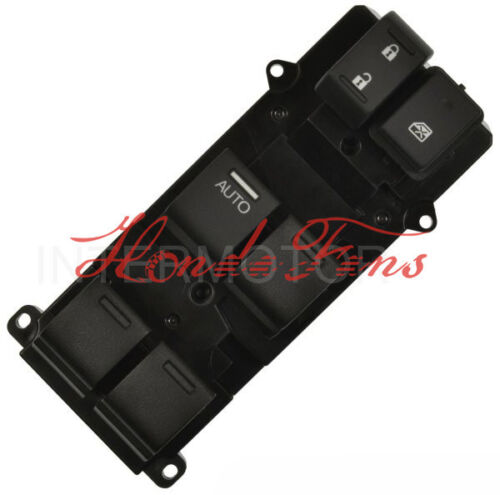 New Power Window Switch Front left for 2013-2016 Honda Accord 2.4L 35750-T2A-A91