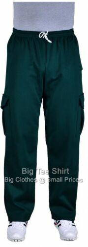 Big Mens Bottle Green BTS Arthur 29 Inch IL Cargo Pants 3xl 4xl 5xl 6xl 7xl 8xl