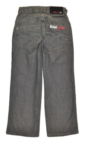 Ecko Unltd Big Boys Gray Denim Jean Size 8 $29.50