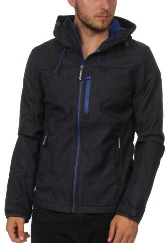 Flash à Jacket vent Marl Coupe Cobalt Homme Superdry Blue capuche Moody 75PXwqz