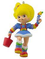 Rainbow Brite 2016 Hallmark Christmas Ornament Doll Star Basket Cheer Girl Dress