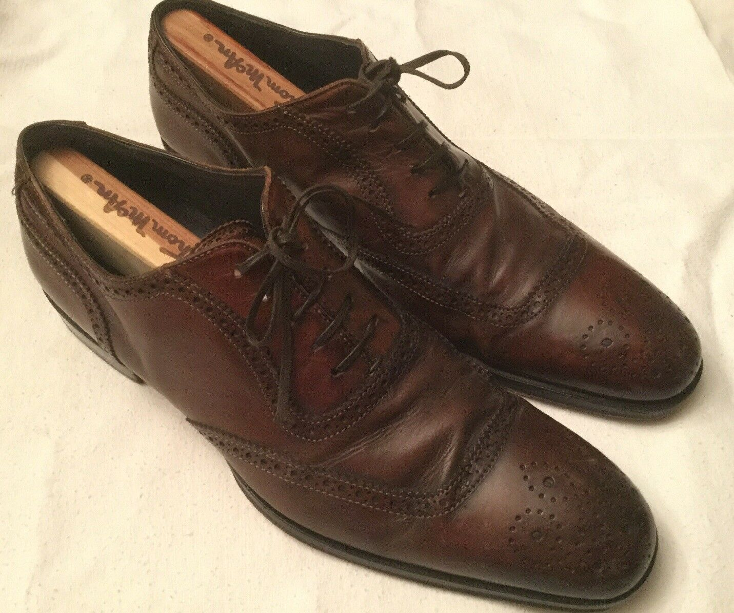 To Stiefel New York Brogue Wingtip Oxford Dress schuhe 9