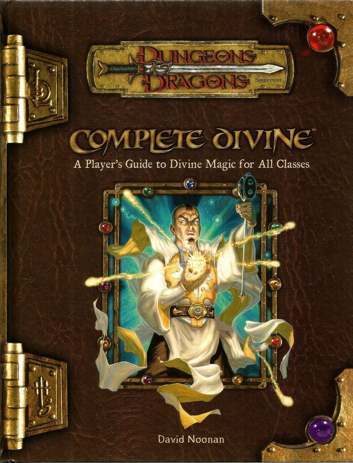 D&D - Dungeons & Dragons Ed 3.5  Complete Divine Perfetto Sacerdote - Eng USATO
