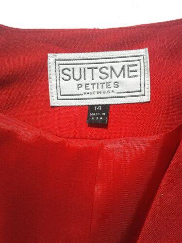 Suit 14 taglia Jacket Suitsme gonna Red 14 58wOBqv