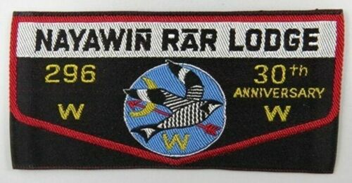 OA Lodge 296 Nayawin Rar W1 Flap oval shape; 70 mm x 75 mm A10159