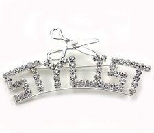 Beauty Salon Hair Designer Stylist Word Letters Scissors Brooch Pin Jewelry p748