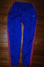 Men's Adidas Blue / Coral Break Away Tear Away Snap Warm Up Pants (X-Large)