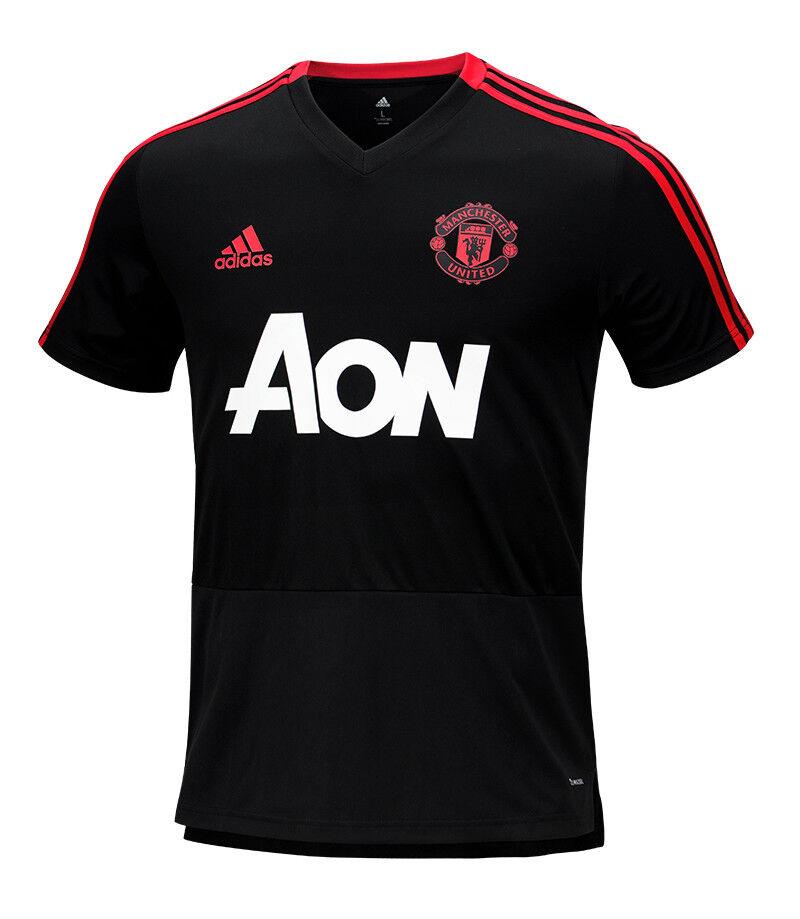 Maillot d entraînement Adidas Manchester United (CW7608) de football pour haut de football