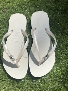 e3580038efab Image is loading Bridal-Havaianas-Wedding-Just-Married-Mr-Mrs-Bride-