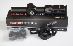 Vector-Optics-Grimlock-1-6x24IR-Compacto-Riflescope-alivio-del-ojo-largo