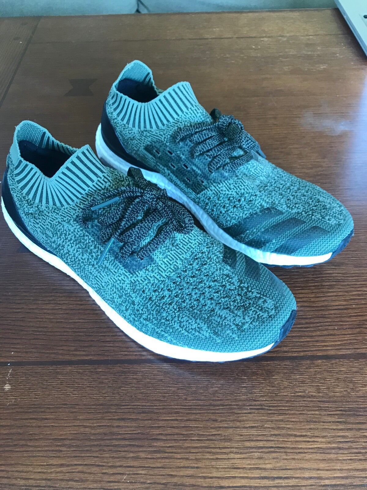 Adidas Men's Ultra Boost Uncaged Olive Green 11.5