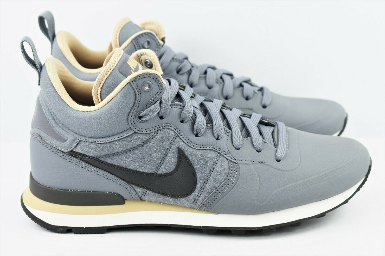 Nike Internationalist Utility Mens Size 9 shoes Wool Grey Pewter 857937 003