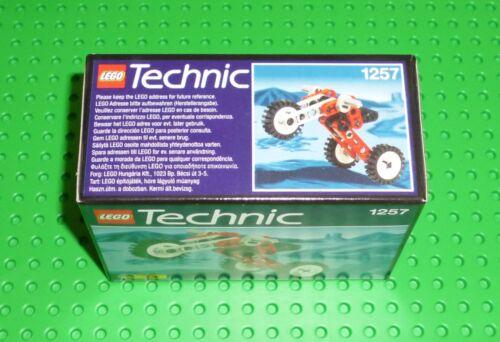 """Lego-technic en Caja Set/"""" 1257 Triciclo /""""tienda Sellado 2000 Nuevo"""