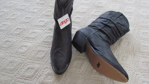 Nieuwe dames gemiddeld Western Dingo zwarte Original laarzen169maat 5 hsrdCtQxB