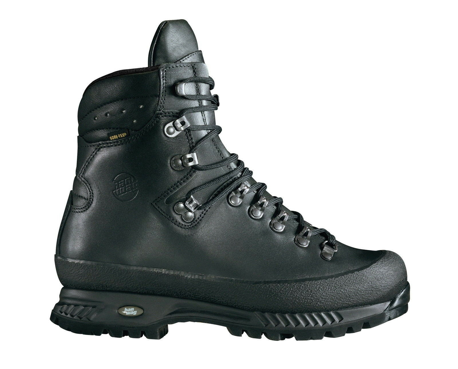 Hanwag zapatos de montaña  alaska GTX Men tamaño 13 - 48,5 negro