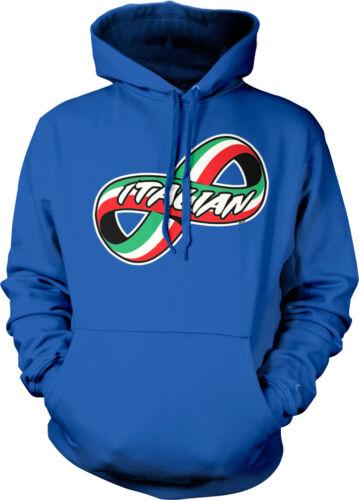 Italian Italy Italia Pride  Hoodie Pullover Italy Infinity Symbol