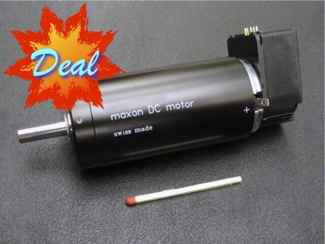 Combination Maxon Gearhead GP42C reduction 156:1 w// brushless EC45 Motor 30 Watt