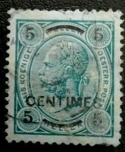 Austria:1903 -1904 Postage Stamps Surcharged 5CH  Collectible & Rare Stamp.