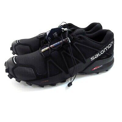 Women's Salomon SpeedCross 4 trailrunning shoes US size 8.5 black EUR 42 | eBay