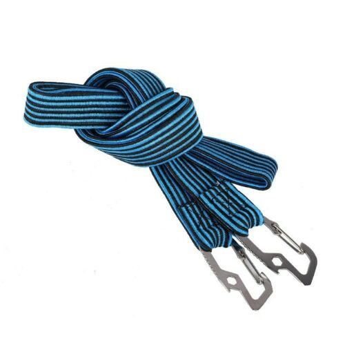 Cord Band Bike Bicycle Strap Luggage Hook Elastic Tie Rope Stacking Fixed Bungee