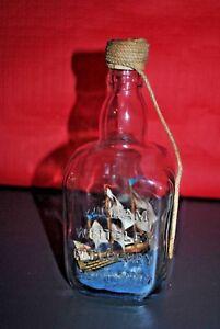 Fougueux Bateau En Bouteille Maquette - Boat In Bottle - Hms Victory