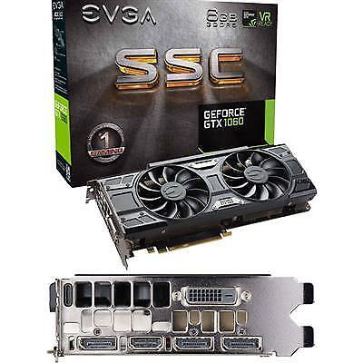 EVGA GeForce GTX 1060 SSC (6GB GDDR5 Graphics Card) for sale online | eBay