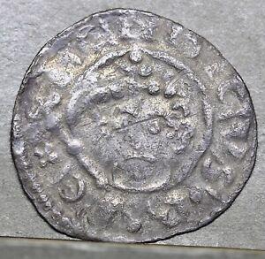 Henry II (1154 - 1189) Short Cross Silver Penny, Class 1b. OSBER ON LVND, London
