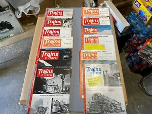 Trains-Magazine-Complete-Year-1953-12-issues