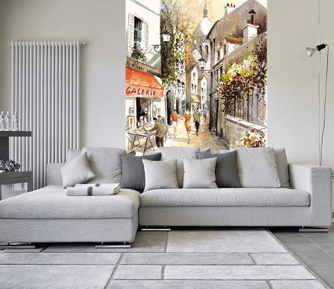 3D Graffiti street 20471 Paper Wall Print Decal Wall Wall Murals AJ WALLPAPER GB