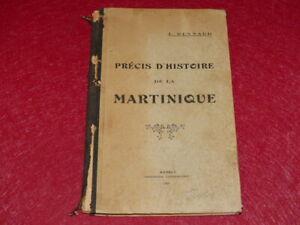Bibl-RENE-COTTRELL-ANTILLES-MARTINIQUE-ABBE-J-RENNARD-PRECIS-D-039-HISTOIRE-1929