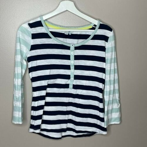 Boden Striped Long Sleeve T Shirt - image 1