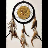 10 3d Lenticular Deer Buck Hunting Dream Catcher Wall Hang Decor Feathers Gift