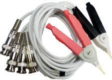 Lcr Meter Test Leads Lead Clip Cable Terminal Kelvin Probe Wires With 4 Bnc