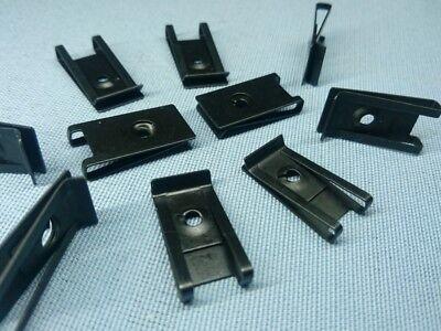 10x Befestigungsklammer Blechmutter Klammer M3 13,5x27 H5 Metall Universal 429