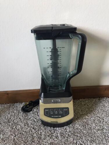 Ninja Pro System 1100 Kitchen Blender Food Processor Model Number NJ602CO
