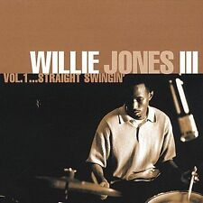 Vol. 1...Straight Swingin' by Willie Jones III (2~Drums) CD Feb-2001 WJ3 Records