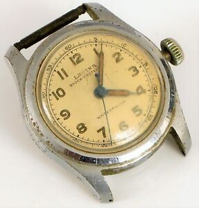 Vintage-montre-LAVINA-Co-Swiss-Military-Cadran-wristwwatch-Pieces-ou-Reparation