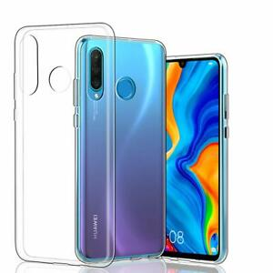Huawei-P30-Lite-Crystal-Huelle-Transparent-Cover-Durchsichtig-Case-Cover