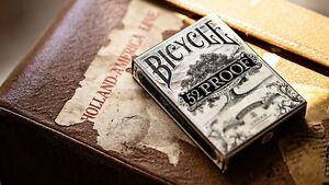 INVISIBLE 52 PROOF BICYCLE DECK OF PLAYING CARDS BY ELLUSIONIST MAGIC TRICKS