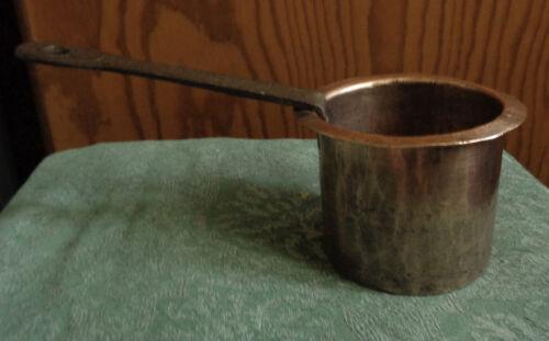 antik Frankreich Kupfertopf WASSERBAD PATISSERIE Handarbeit ~1800-1850