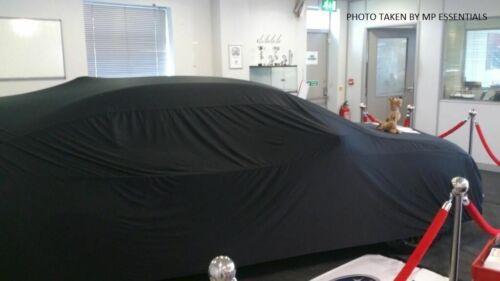 Para adaptarse a Bmw 3 Series Transpirable Tela Suave Cubierta De Coche Garaje showroom de interior rojo