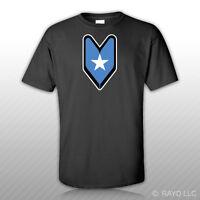Somali Driver Badge T-shirt Tee Shirt Free Sticker Wakaba Soshinoya Somalia
