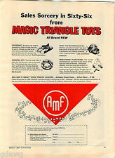 1966 ADVERT AMF Roger Ramjet Cartoon Character Hovercraft DOG From S.C.E.N.T.