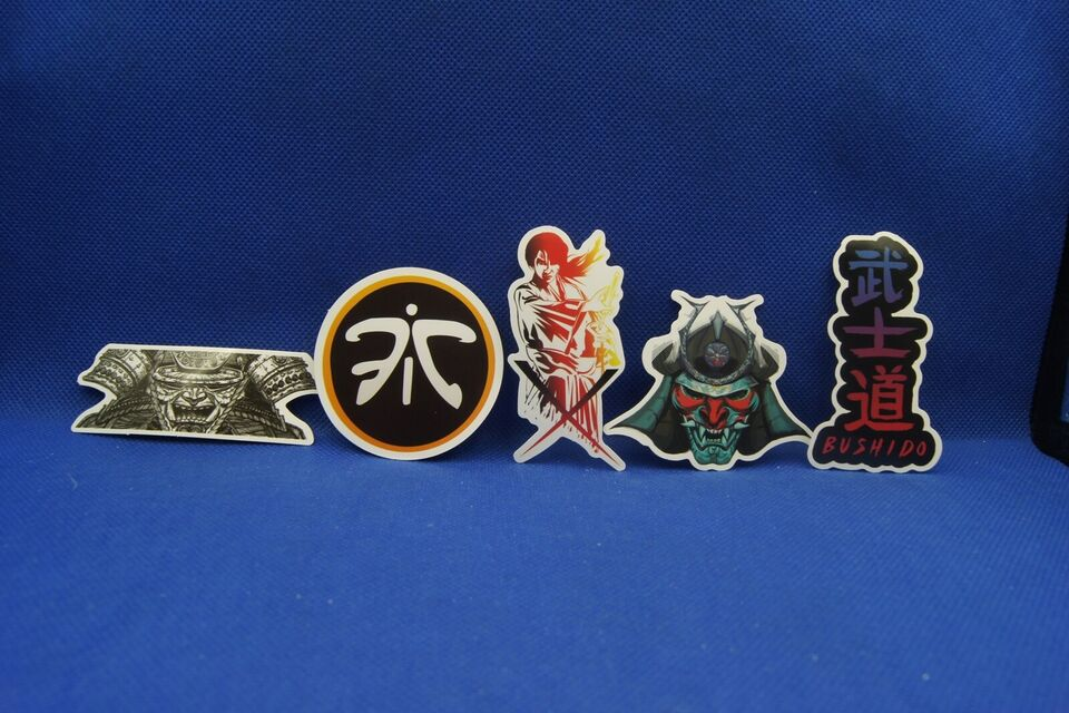 Klistermærker, Mærker: Samurai