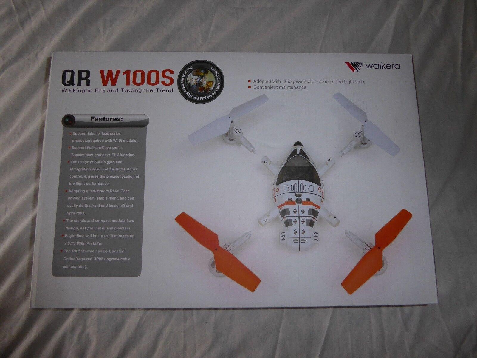 WALKERA DEVO QR W100S DEVO 4 Quadcopter con controlli IPHONE-NUOVO E Inscatolato